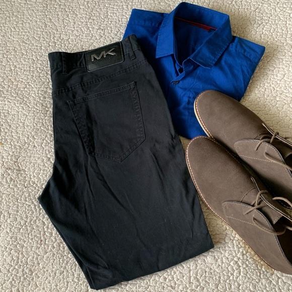 "Michael Kors Other - Michael Kors ""Parker"" Slim Fit Jeans Black VGC"